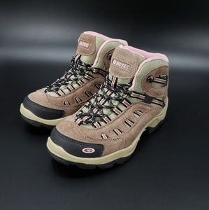 Hi-Tec Bandera Mid Taupe Waterproof Hiking Boots